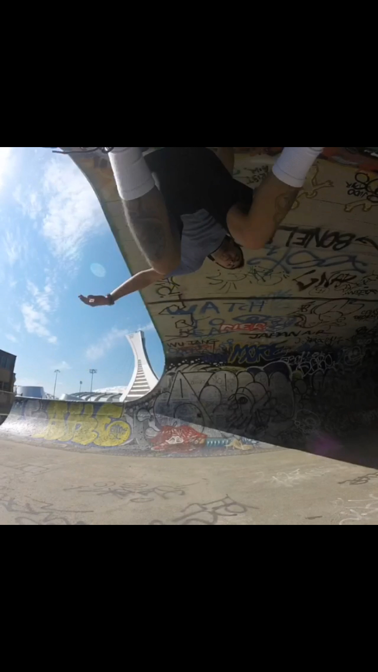 Bs carve over the camera, montreal skate