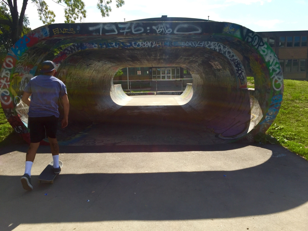 pushing into o, montreal skate
